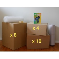 Small Move (Hire - 22 Boxes + Accessories)