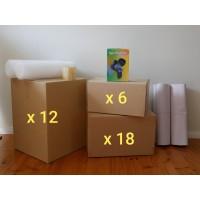 Medium Move (Hire - 36 Boxes + Accessories)