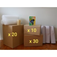 Large Move (Hire - 60 Boxes + Accessories)