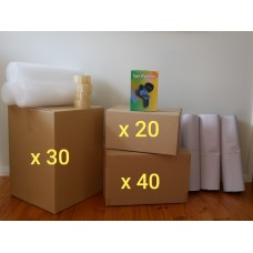 Extra Large Move (Hire - 90 Boxes + Accessories)