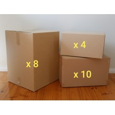 Small Move - Boxes Only (Hire - 22 Boxes)