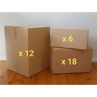 Medium Move - Boxes Only (Hire - 36 Boxes)