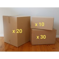 Large Move - Boxes Only (Hire - 60 Boxes)
