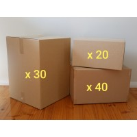 Extra Large Move - Boxes Only (Hire - 90 Boxes)