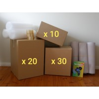 Large Move (Buy - 60 New Boxes + Accessories)