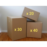 Extra Large Move - Boxes Only (Buy - 90 New Boxes)