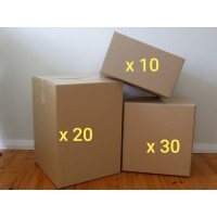 Large Move - Boxes Only (Buy - 60 New Boxes)