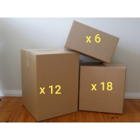 Medium Move - Boxes Only (Buy 36 New Boxes)