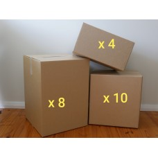 Small Move - Boxes Only (Buy - 22 New Boxes)